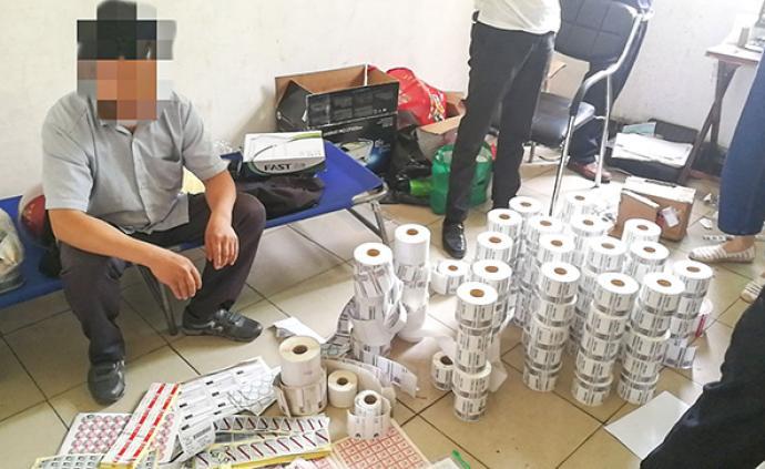 十堰警方搗毀3個制假窩點,查獲百萬假冒濾清器、注冊商標