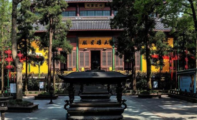 杭州靈隱寺今起有序恢復開放,預約方式、入寺流程等發布