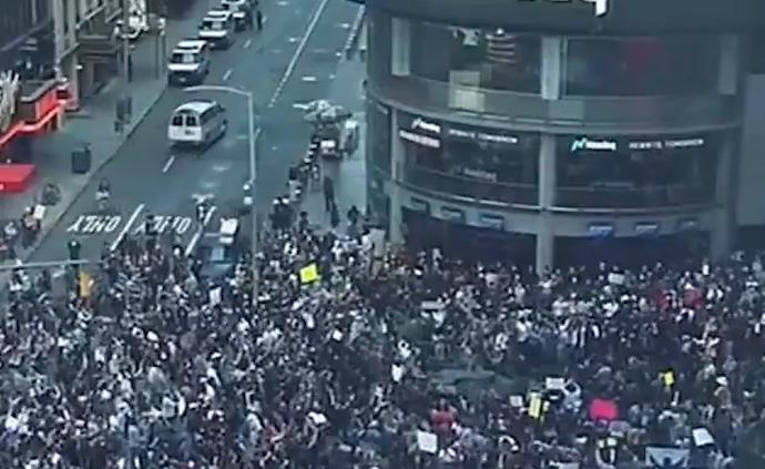 全美至少140個城市發生抗議