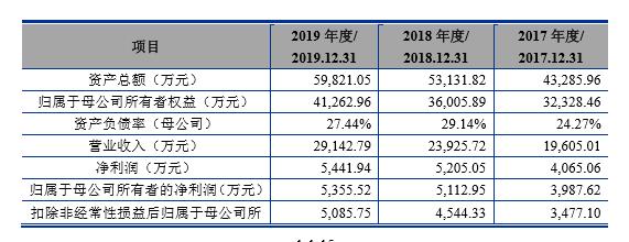 财务报告数据截图