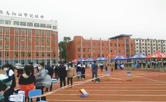 舒蘭高三學生二次復課備戰高考,學校實行全封閉管理