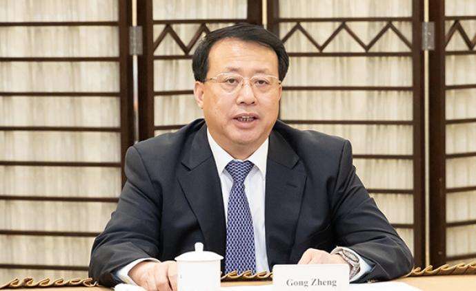上海代市长龚正与全球最大时尚零售企业负责人视频连线