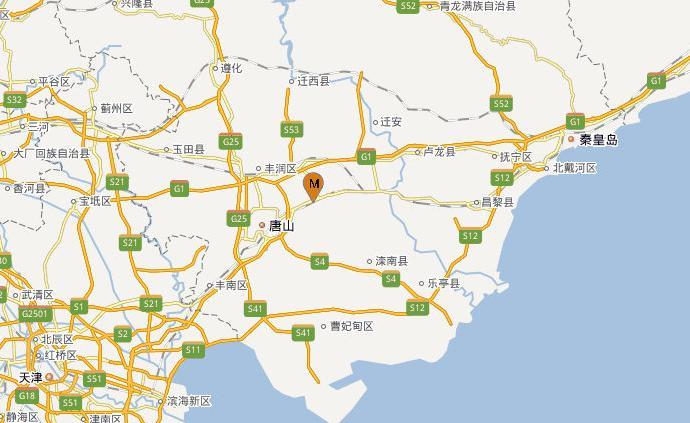 河北唐山古冶区发生2.1级地震,震源深度10千米