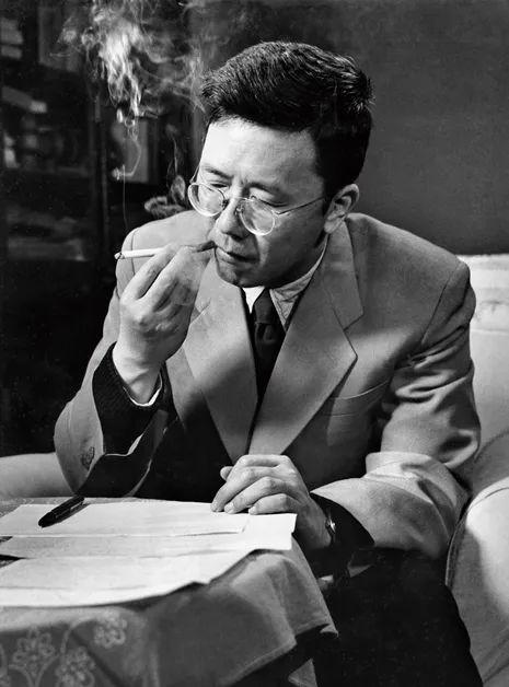 华罗庚,1956年。