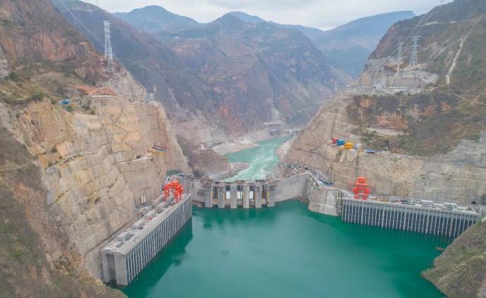 """乌东德水电站成功蓄水至945米,为机组发电储备""""粮草"""""""