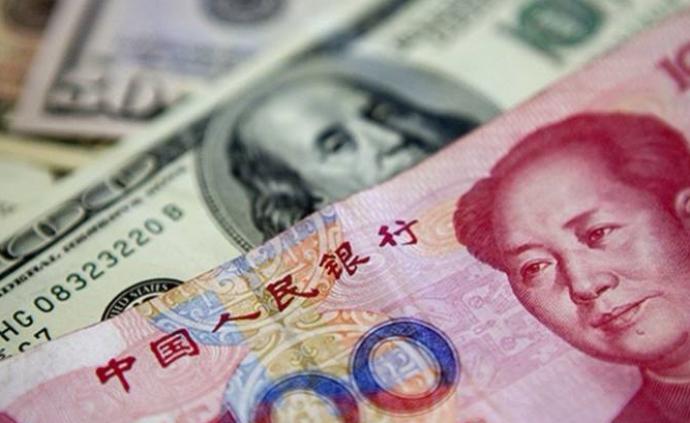 大幅升值超400點,人民幣對美元即期匯率逼近7.08