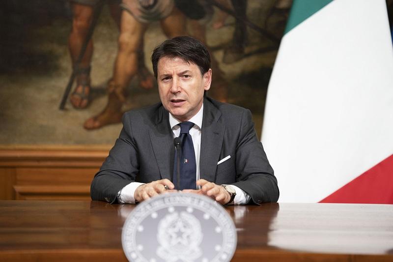 意大利总理孔特。 意大利总理府网站 图