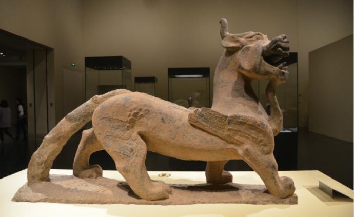 漢代神獸︱鎮墓的天祿、辟邪如何演變成宅門前的石獅子?