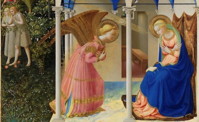 """西班牙普拉多的久别""""重聚"""":提香、丢勒自画与《受胎告知》"""