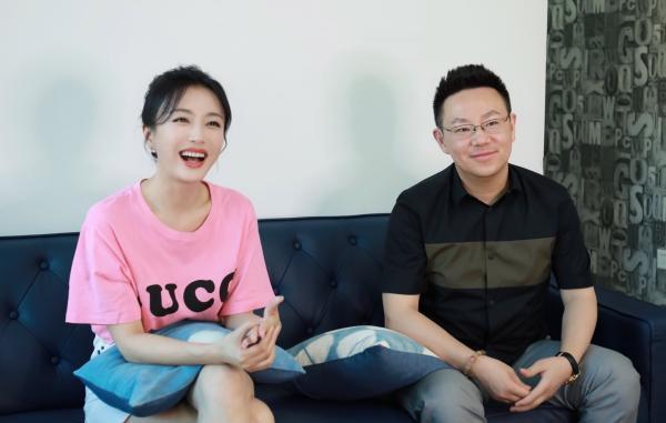 《怪你过分美丽》主演秦岚与该剧总制片人、艺术总监梁振华接受澎湃新闻专访