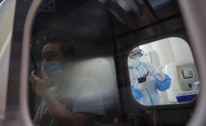 """北京首座气膜版""""火眼""""实验室完工:可日检核酸上万份"""