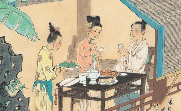 端午节的传统习俗:端五景、挂钟馗图、秤锤粽、雄黄酒……