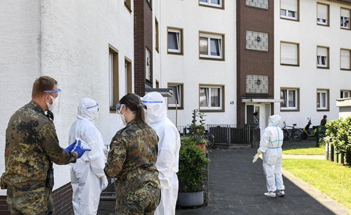 """德国肉类加工厂疫情致两县重新""""封锁"""",当地提供免费检测"""