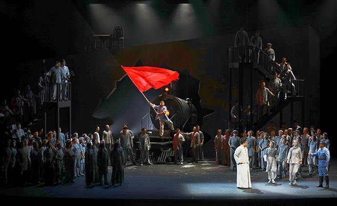 上海歌剧院新版《晨钟》献礼七一:我们要把晨钟敲得更响