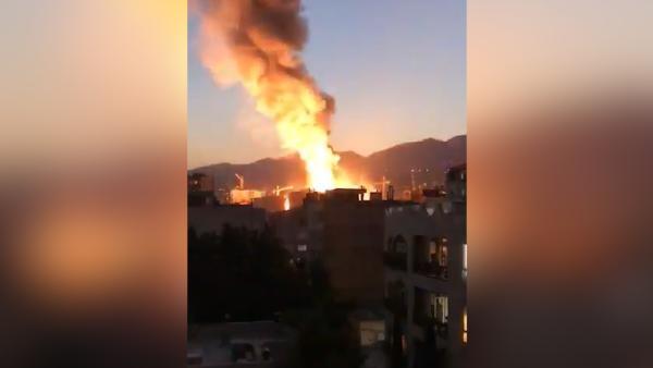 德黑兰一诊所发生爆炸已致19死,疑因氧气罐泄漏