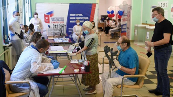 俄罗斯宪法修正案通过,77.92%的选民赞成