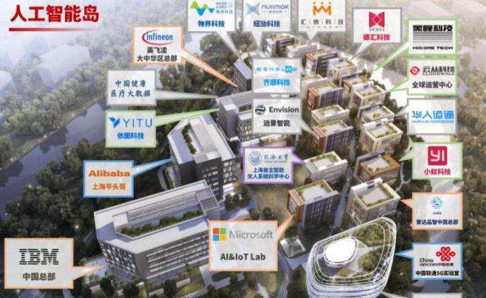 """上海人工智能发展这一年:""""东西集聚多点联动""""格局初步形成"""