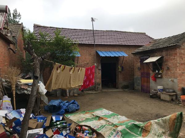 刘天宝夫妇的屋子。