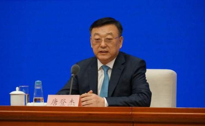唐登杰任国家发改委党组副书记,曾是上海当时最年轻副市长
