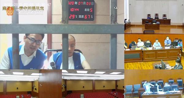 7月3日,南昌市青山湖区法院开庭审理此案。 中国庭审公开网视频截图
