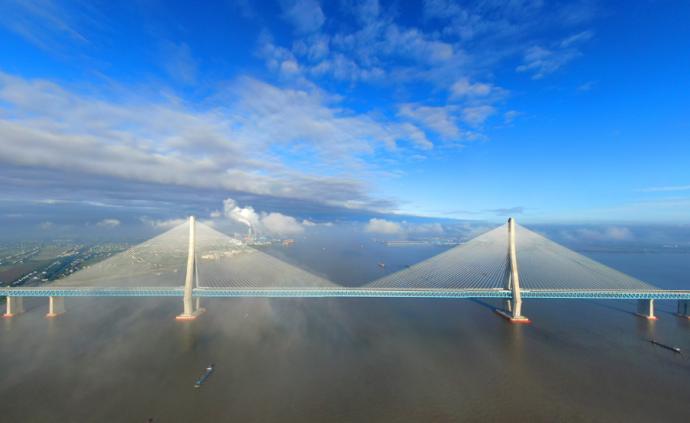 """【地评线】""""沪通""""长三角,""""桥""""见新未来"""