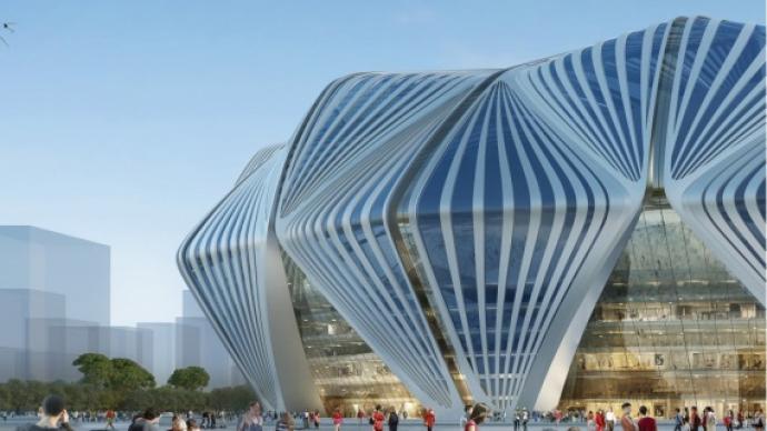 廣州恒大球場設計方案正式出爐,這是它的真實顏值