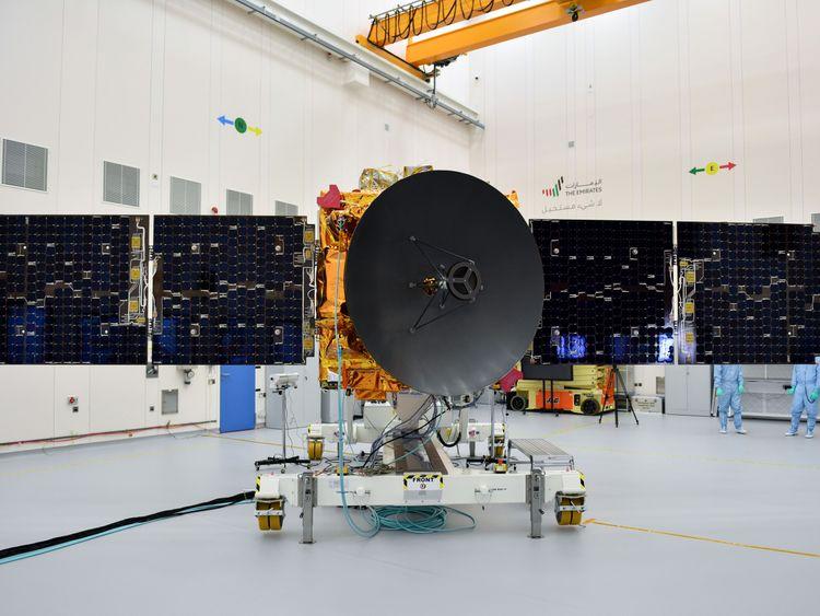 图片来自阿联酋火星任务团队