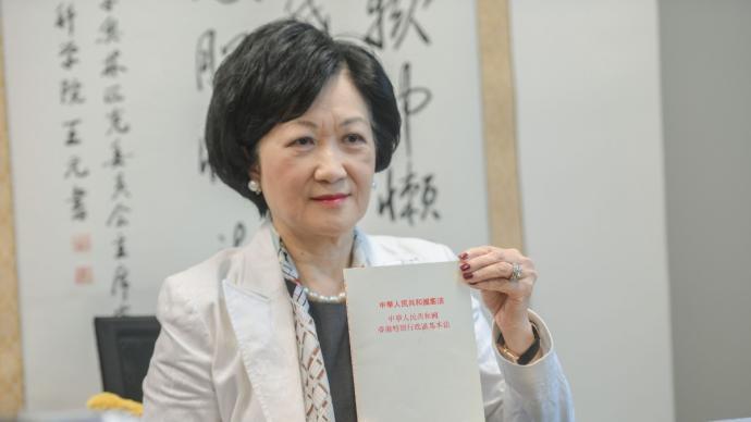 """""""港独""""分子逃跑?叶刘淑仪:他们也怕坐牢,国安法有震慑力"""