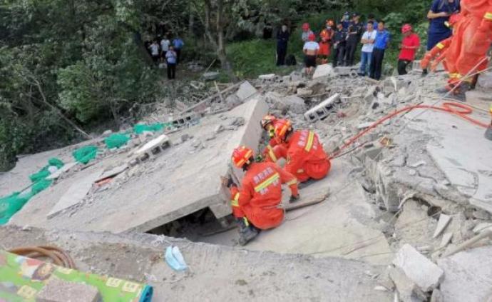 贵阳市观山湖区一民房垮塌致3死2伤,事故原因正调查