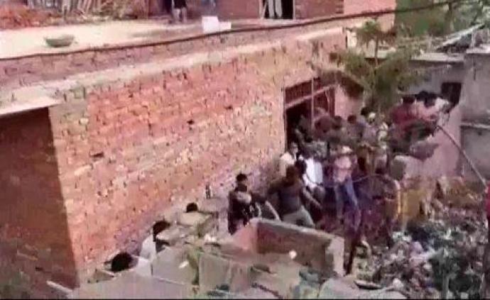 印度北方邦一工厂爆炸致7死4伤