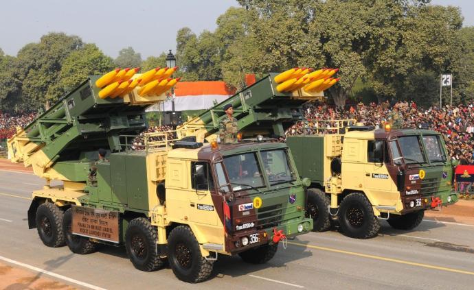 讲武谈兵|印度斥巨资买国产远程火箭炮,但性能落后于邻国