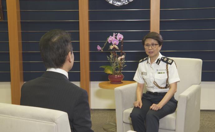 香港警务处国家安全处长官刘赐蕙:未来工作任重道远