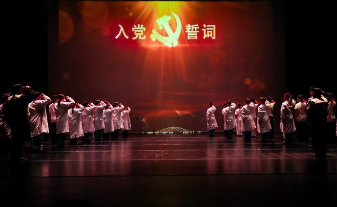 原创武术舞台剧《止戈战疫》,上海体育向抗疫逆行者致敬