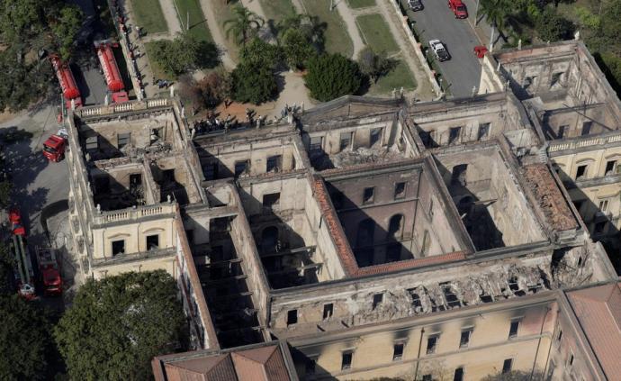 巴西國家博物館火災調查報告公布:空調短路漏電引發