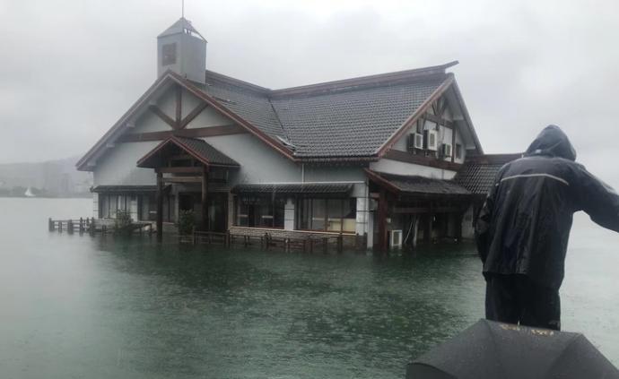 入梅以来淳安降雨量杭州第一,千岛湖景区今起暂停接待游客