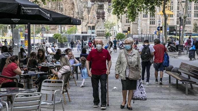 """西班牙研究显示:""""群体免疫""""控制疫情恐难实现"""