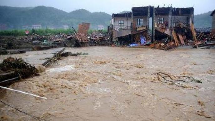 江西洪涝灾害造成18.3万人受灾,直接经济损失约八千万元