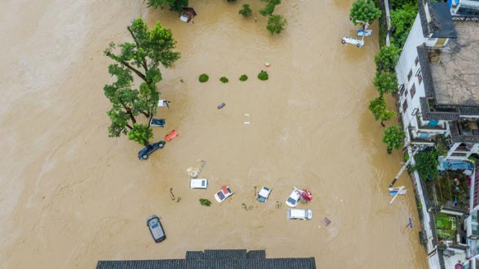 24小时降水全国第一,安徽黟县教育局:已有相关风险预案