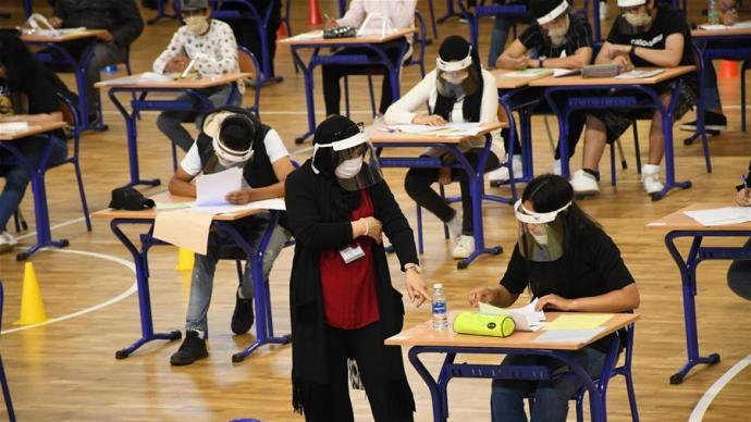 疫情下各国如何高考?有的国家不考了,有的要求隔两米