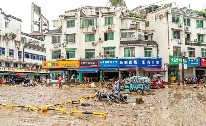 2020高考|安徽歙县主城区洪水已退,考生安心备考