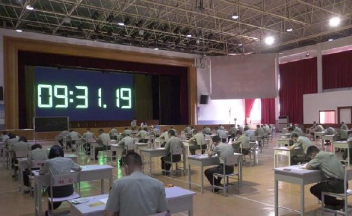 與全國高考同步,今天6.2萬名士兵參加軍考