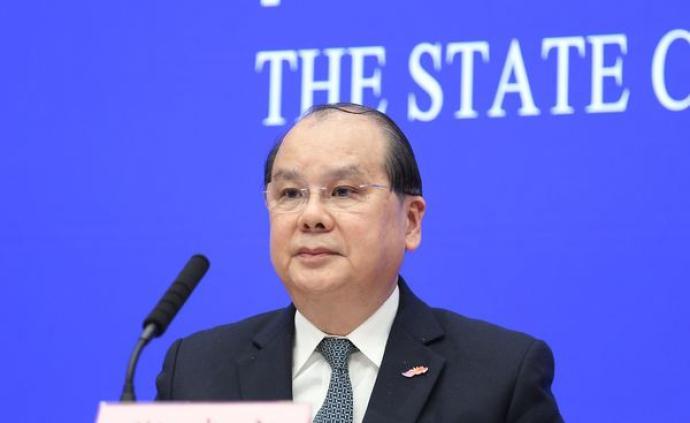 张建宗:公务员应各司其职,全面配合维护好国家安全