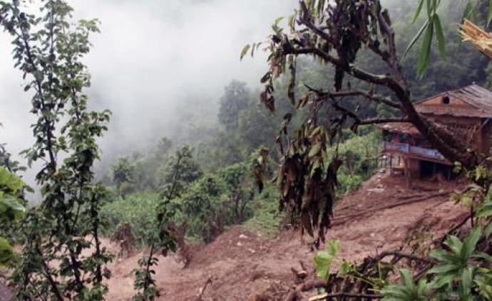 尼泊爾發生山體滑坡已致2死近20人失蹤,一中企員工失聯