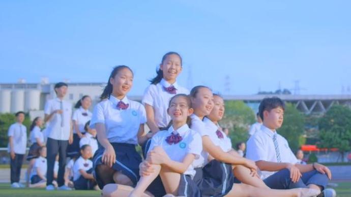 """厦门六中艺术团高考应援曲背后:烈日下舞蹈,""""过程都是泪"""""""