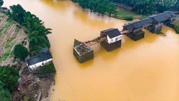 洪水预警!一图厘清江西汛情变化