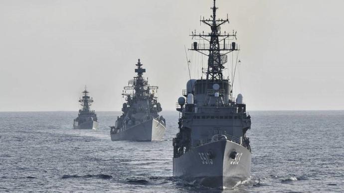 兵韜志略|印日舉行聯合海上軍演,敏感時期加強軍事互動