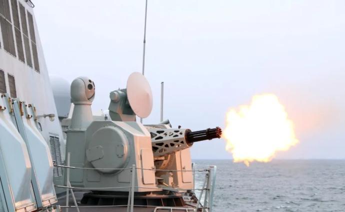 東部戰區海軍某驅逐艦支隊奔赴東海多個海域組織實戰化訓練