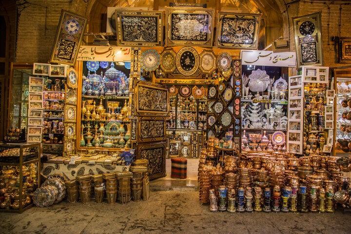 伊朗手工艺品店