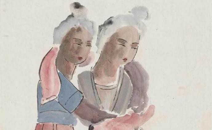 """70多年前的""""向遠西行"""",敦煌展關山月西行寫生與臨畫"""