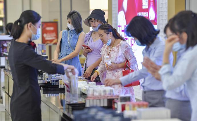 海南離島免稅新政落地首周,6.5萬人次購物總額4.5億元